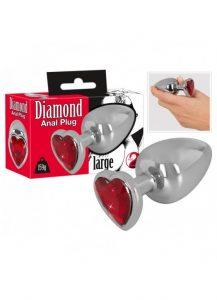 Plug anal diamond